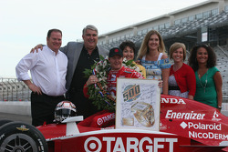 Herff Jones presentation to Scott Dixon