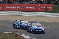 #117 Volkswagen Motorsport VW Scirocco: Carlos Sainz, Giniel De Villiers, Dieter Depping, Hans Stuck