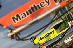 Manthey Racing pit sign