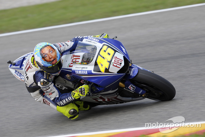 2008: Valentino Rossi, Yamaha YZR-M1