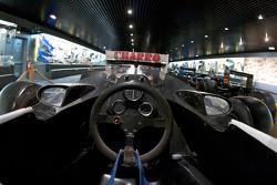 Formula One area: McLaren MP4-5 cockpit
