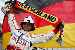 A German Toyota F1 Team member