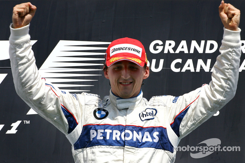 Podium: 1. Robert Kubica