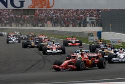 Arrancada: Felipe Massa, Scuderia Ferrari