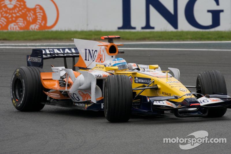 2002 – 2010: Renault F1 Team