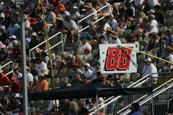 Dale Earnhardt Jr's pit board
