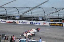 A.J. Foyt IV goes spinning
