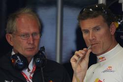 Helmut Marko, Red Bull Racing, Red Bull Advisor and David Coulthard, Red Bull Racing