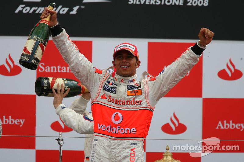 7- Gran Premio de Gran Bretaña 2008, McLaren