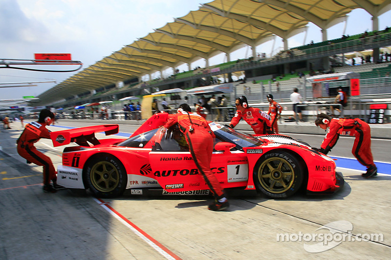 Autobacs Racing Team Aguri Arta NSX at Sepang