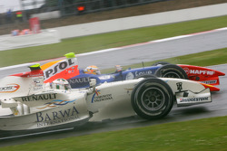 Giorgio Pantano passes Vitaly Petrov