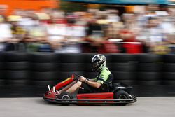 The Sachsenring go-kart race: Anthony West