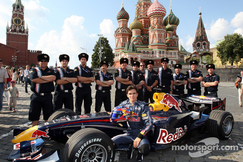 2008 год, Красная площадь, Red Bull Racing