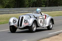 #9 BMW 328 1938: Nicolas D'Ieteren, Roland D'Ieteren, Jean-Jacques Lalmand