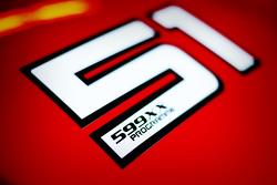 Ferrari 599 XX, Detailaufnahme