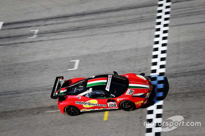 #208 Ferrari of Fort Lauderdale Ferrari 458: Mike Zoi, beim Shakedown