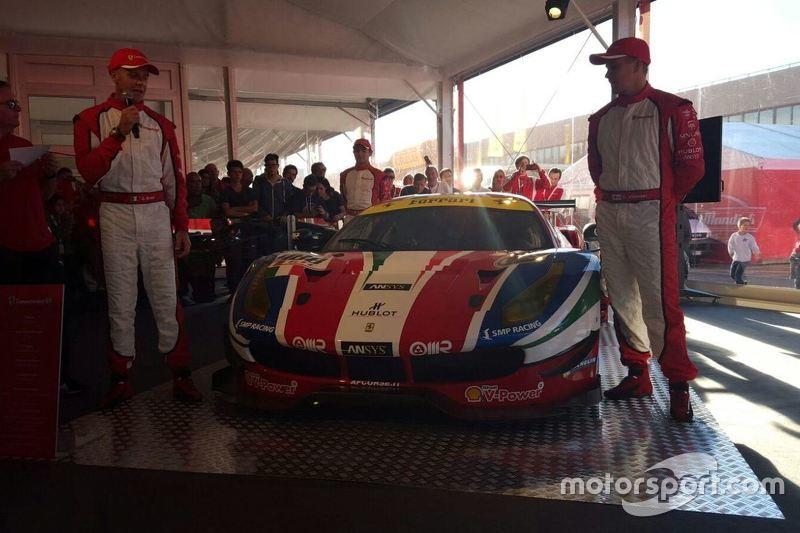 Presentazione Ferrari 488 GTE