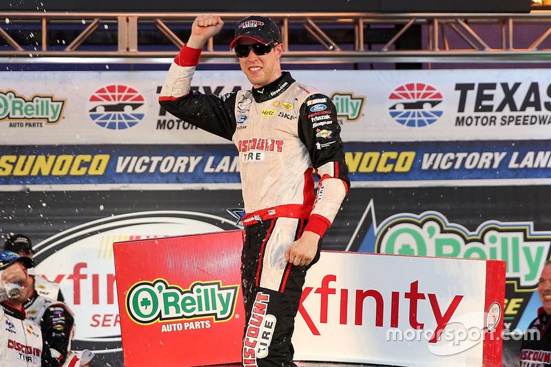 Race winner Brad Keselowski, Team Penske
