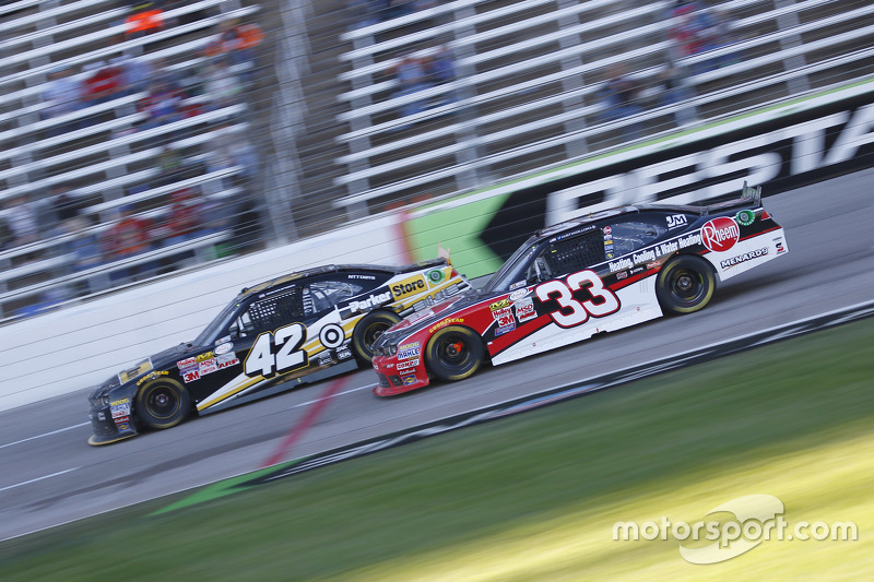 Kyle Larson, HScott Motorsports with Chip Ganassi and Austin Dillon, Richard Childress Racing Chevrolet