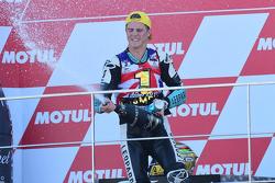 Podium: world champion 2015 Danny Kent, Leopard Racing