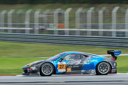#27 Nexus Infinity Ferrari 458 GT3: Josh Hunt, Dominic Ang