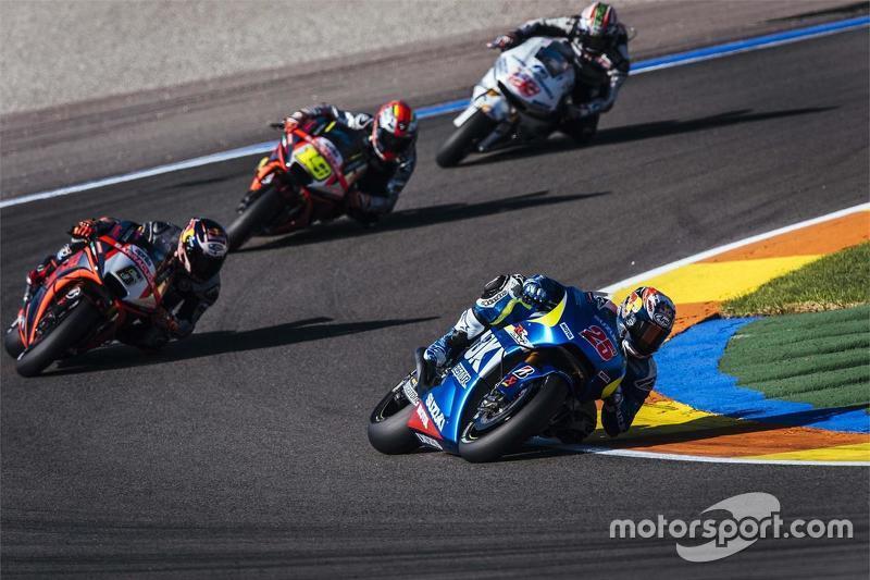 Маверік Віньялес, Team Suzuki MotoGP та Штефан Брадль, Aprilia Racing Team Gresini та Альваро Баутіс