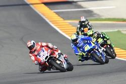 Andrea Dovizioso, Ducati Team dan Aleix Espargaro, Team Suzuki MotoGP dan Pol Espargaro, Tech 3 Yamaha