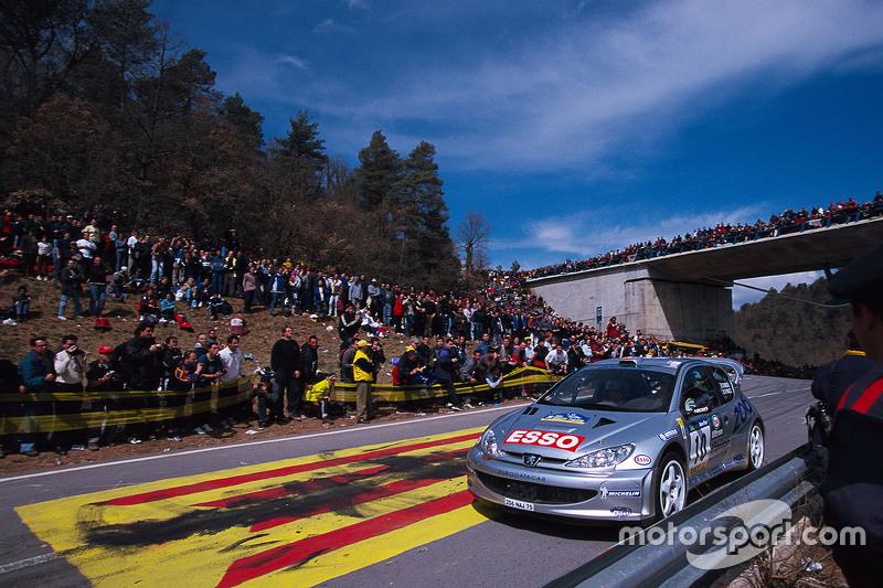 Gilles Panizzi y Hervé Panizzi, Peugeot Sport Peugeot 206 WRC