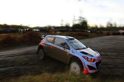 Kevin Abbring e Sebastian Marshall, Hyundai i20 WRC, Hyundai Motorsport