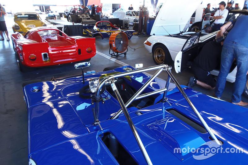 Classic cars в garage