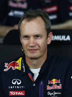 Пол Монаген, Головний інженер Red Bull Racing на пресс-конференції FIA