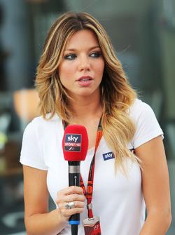 Federica Masolin, Sky F1 Italia presentatrice