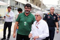 Bernie Ecclestone, dengan Luis Garcia Abad, Driver Manager