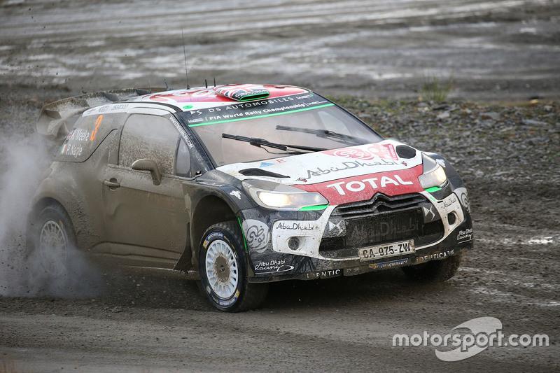Медс Остберг та Йонас Ендерсон з Кріс Міке та Пол Негл, Citroën World Rally Team