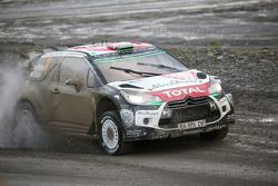 Mads Ostberg e Jonas Andersson con Kris Meeke e Paul Nagle, Citroën World Rally Team