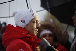 Кріс Міке, Citroën World Rally Team з медіа