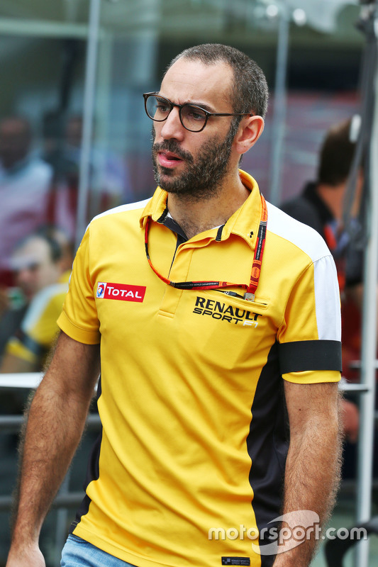 Cyril Abiteboul, Renault Sport F1 Managing Director at Brazilian GP