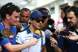 Felipe Massa, Williams met de media