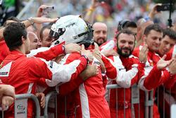 Terzo Sebastian Vettel, Scuderia Ferrari