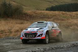 Hayden Paddon and John Kennard, Hyundai i20 WRC, Hyundai Motorsport