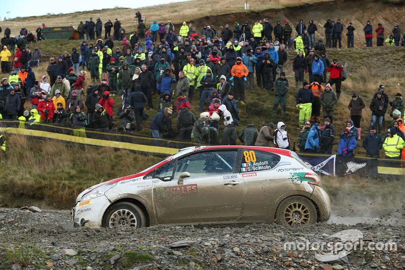 Fabio Andolfi und Simone Scattolin, Peugeot 208 R2