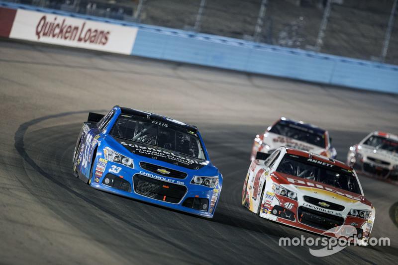 Ryan Ellis and Michael Annett, Hscott Motorsports Chevrolet