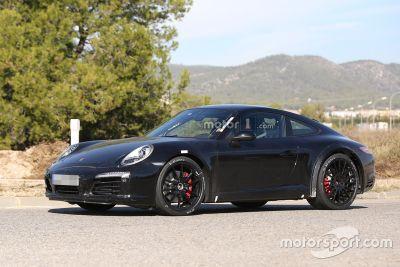 Foto spia Porsche 911 2018
