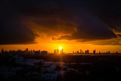 El centro de Miami