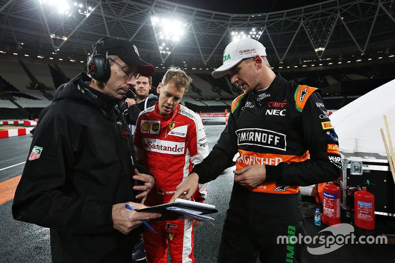 Sebastian Vettel, Nico Hülkenberg