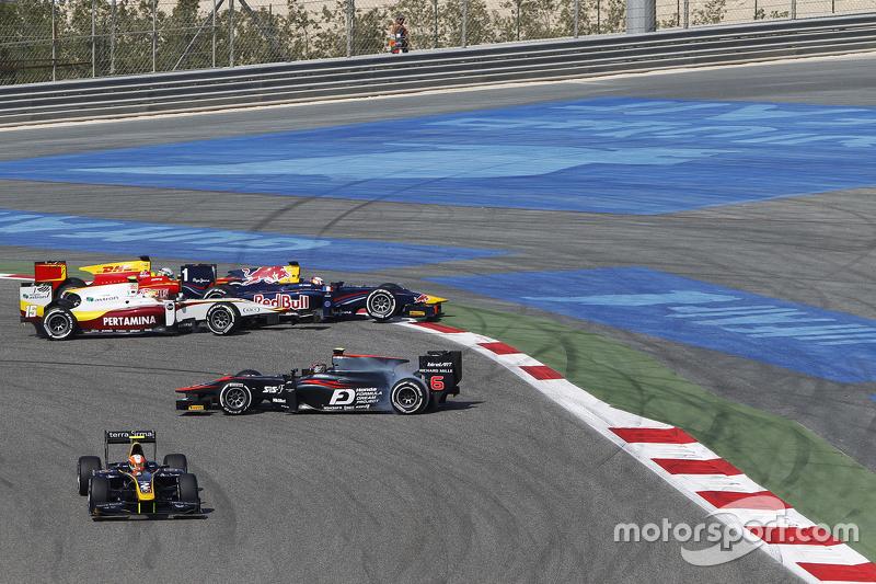 GP2 - Départ : Nobuharu Matsushita, ART Grand Prix en tête-à-queue