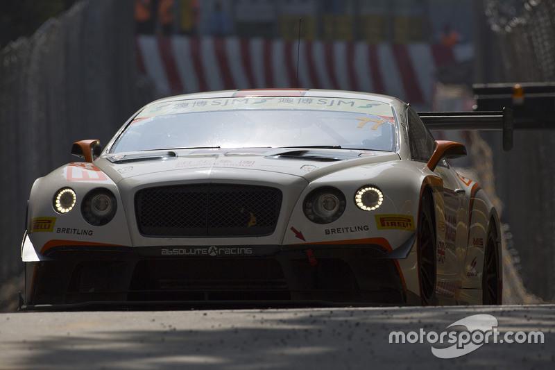 Jacky Yeung, Bentley Team Absolute, Bentley Continental GT3