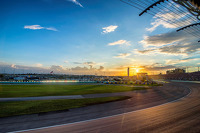 Sonnenuntergang am Homestead-Miami Speedway