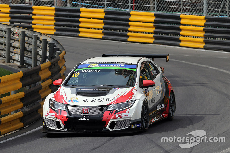 Sunny Wong, Honda Civic TCR, WestCoast Racing