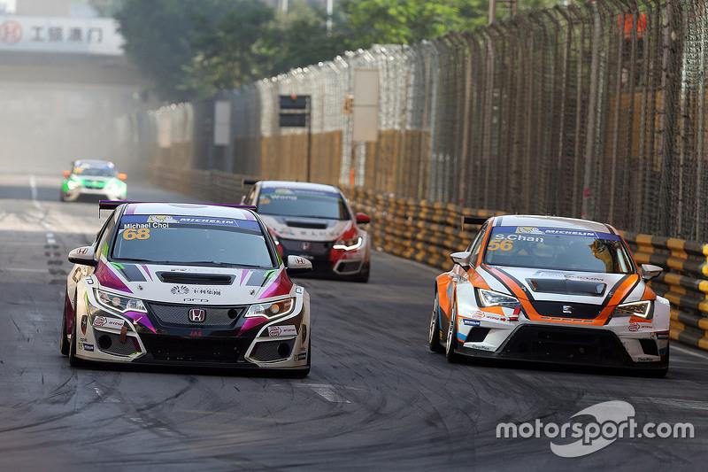 Майкл Чой, SEAT Leon, Prince Racing Hong Kong та Самсон Чан, SEAT Leon, Roadstar Racing Team